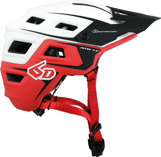 6D Helmets ATB-1T Evo White/Red