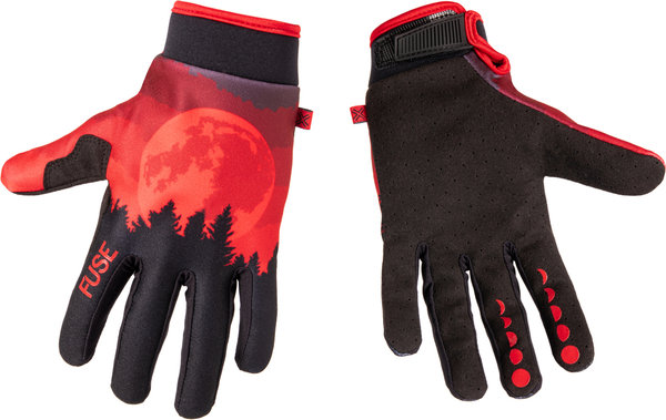 Fuse Protection Chroma Handschuhe Rot